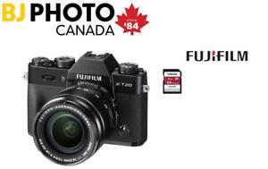 FUJI  X-T20 Kit Black (XF18-55mm F2.8-4.0 Lens (XT20) + 64GB MEMORY CARD--NEW FULL WARRANTY