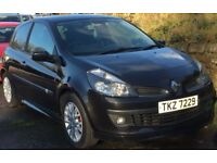 2007 RENAULT CLIO 1.2 TCE DYNAMIQUE DOOR+9 MONTH MOT+FULL SERVICE HISTORY+ONLY 63,000 MILES+BARGAIN!