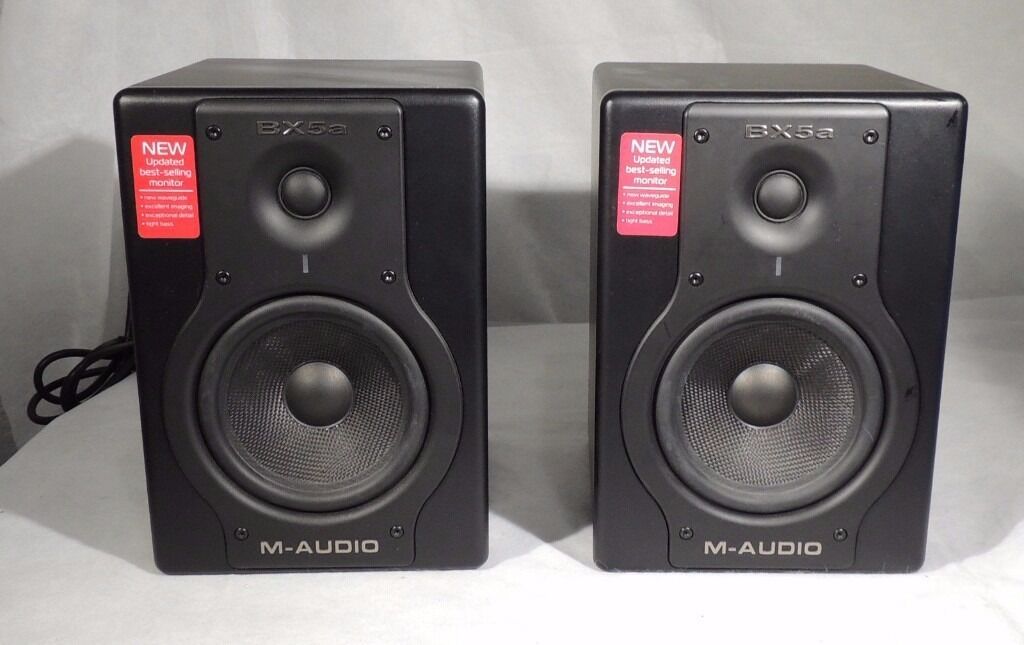 m audio bx5a deluxe reference monitor studio speakers in wembley london gumtree. Black Bedroom Furniture Sets. Home Design Ideas