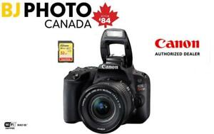 CANON EOS SL2 18-55 IS STM BLACK - BUNDLE