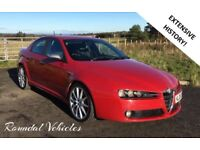 NOW REDUCED! Alfa Romeo 159 Ti saloon 1.9 cdti model EXTENSIVE HIST and money spent, long mot !!