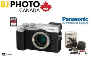 NEW! PANASONIC DMC-GX8 CAMERA BODY BUNDLE