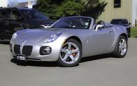 2007 Pontiac Solstice GXP! CONVERTIBLE! 5-SPEED! ONLY 14K!