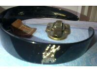 Burberry head band colour Black (never been used)