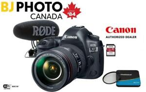 Canon 5D Mark IV w/ EF 24-105 - BUNDLE