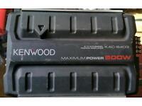 Kenwood 500 wat Amplifier and speakers with tweeters