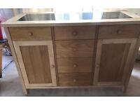 S61 Stunning Atlantis Range solid wood sideboard