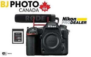 NEW--D500 DX-format Digital SLR Body + BUNDLE SPECIAL (WITH FULL NIKON WARRANTY)