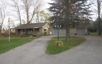 Renovated 4 Bedroom Country Home with Huge Lot on Col. Talbot