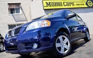 2010 Pontiac G3 Wave SE! LOW KMS+AuxIn+Cruise! Only $114/bi-week