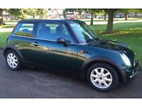 AUTOMATIC MINI ONE INCREDIBLY LOW MILEAGE SERVICE HISTORY ONE YEARS MOT AUTO MINI ONE LOW INSURANCE