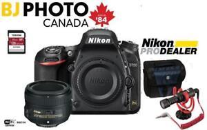 Nikon D750 Body +AF-S Nikkor 50mm f1.8G Lens + Bundle Special