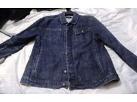 Next Denim Jacket - Large Mens