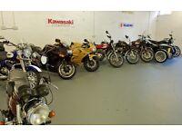 Biker Howff Motorcycle Storage Ltd - Glasgow & Surrounding area