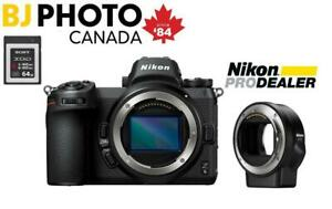 NIKON Z6 MIRRORLESS CAMERA BODY BUNDLE | Starts April 26th