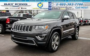 2015 Jeep Grand Cherokee LIMITED, 4X4, RMT START, HTD SEATS, BAC