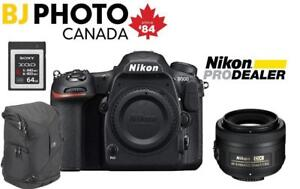 NIKON D500 CAMERA BODY + 35MM LENS - HOLIDAY BUNDLE