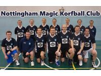 Korfball - Try a new sport + get fit!