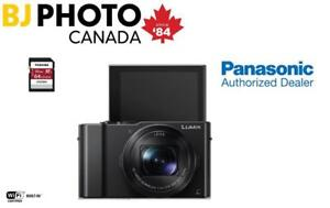 Lumix DMC-LX10 (Black) + 64GB MEMORY CARD