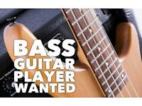 Bass player needed for a 10 piece Funk and Soul Band.