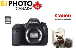 NEW! CANON EOS 6D BODY - BUNDLE