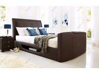 Kaydian Design Stanton Superking Leather TV/Bed