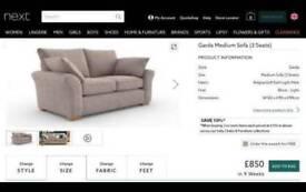 Next Sofa Garda 3seats Medium