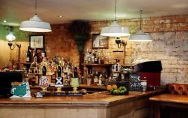 Part-time Bar & Floor experienced staff needed for Clapham Common