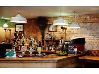 Bar & Floor experienced staff needed for Clapham Common