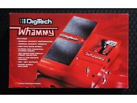 DIGITECH WHAMMY 4 - VGC WITH POWER SUPPLY & ORIGINAL BOX