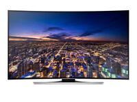 "55"" HU8200 Series 8 Curved Smart 3D UHD 4K LED TV warranty and delivered"