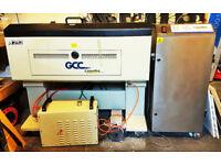 Used Laser Cutter - GCC X252