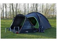 Vango Waterproof Apollo 500 Outdoor Dome Tent available in Black - 5 Persons