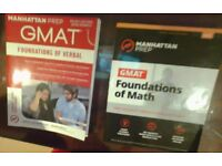 Manhattan Prep FOUNDATION OF VERBAL & FOUNDATION OF MATH 2017 (6th edition)