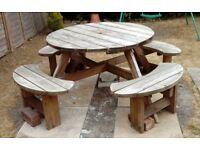 Picknic Bench. Garden table.
