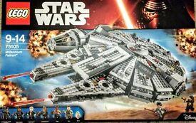 Lego Star Wars Millennium Falcon 75105 - brand new sealed - RRP 129.99