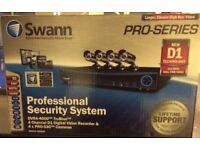 Professional security system. Brand new - in original box. £230.00
