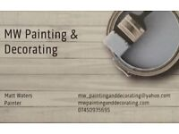 Experienced Painter and Decorator