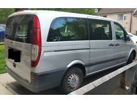Mercedes-Benz Vito 2.1 111CDI Traveliner Long Bus 5 dr (8 Psngr Seats) w/Rear camera & screen/BT/DVD