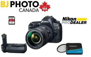 EOS 5D MARK IV with EF 24-105 f4 L IS II Lens + BUNDLE (New with Full Canon Canada Warranty)