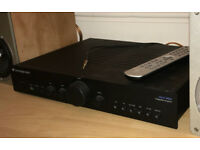 Cambridge Audio Azur 340A audiophile amplifier with remote