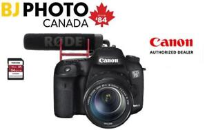 NEW CANON EOS 7D MARK II WITH 18-135 LENS - BUNDLE