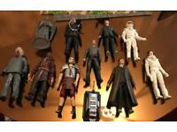 Collectible dr who figures