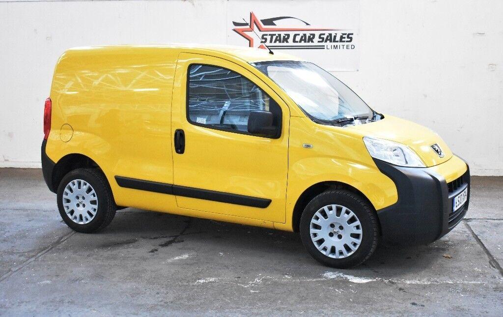 7a6ca1c634 2010 Peugeot Bipper 1.4 HDi 8v Professional Panel Van