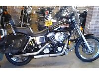 DEPOSIT PAID STUNNING 1997 HARLEY DAVIDSON FXDS DYNA CONVERTIBLE STAGE 1 TUNE