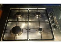 Very good condition Ariston stainless steel gas hob for sale!