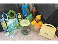 Baby Dan Food Mill, Cups, Bowls, Dummies, Spoons, Teething Rings, Bibs
