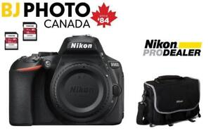 NEW--Nikon D5600 Body -  BUNDLE SPECAIL (WITH FULL NIKON WARRANTY)