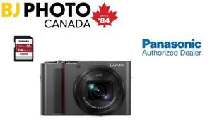 NEW! PANASONIC LUMIX ZS200  + 64GB Toshiba Memory Card Included