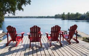 COTTAGE RENTAL MUSKOKA VERY PRIVATE WITH FULL GUEST CABIN